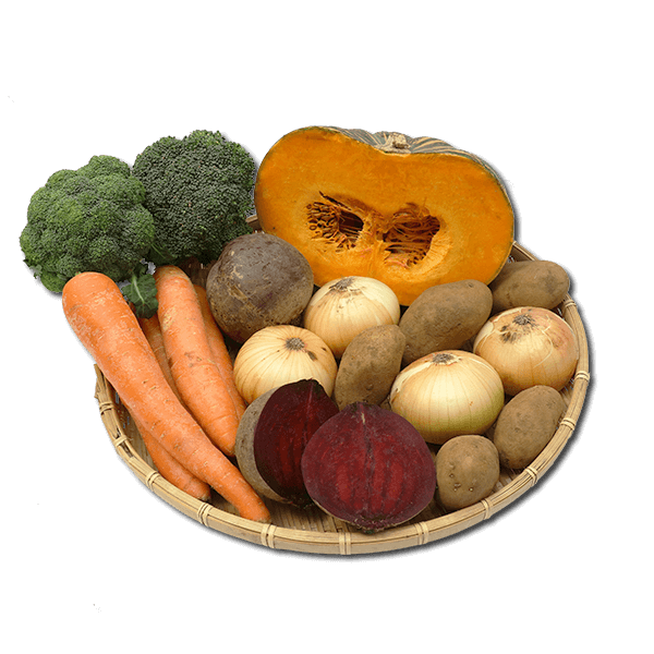 Organic Vegetable Assortment  (1pc)