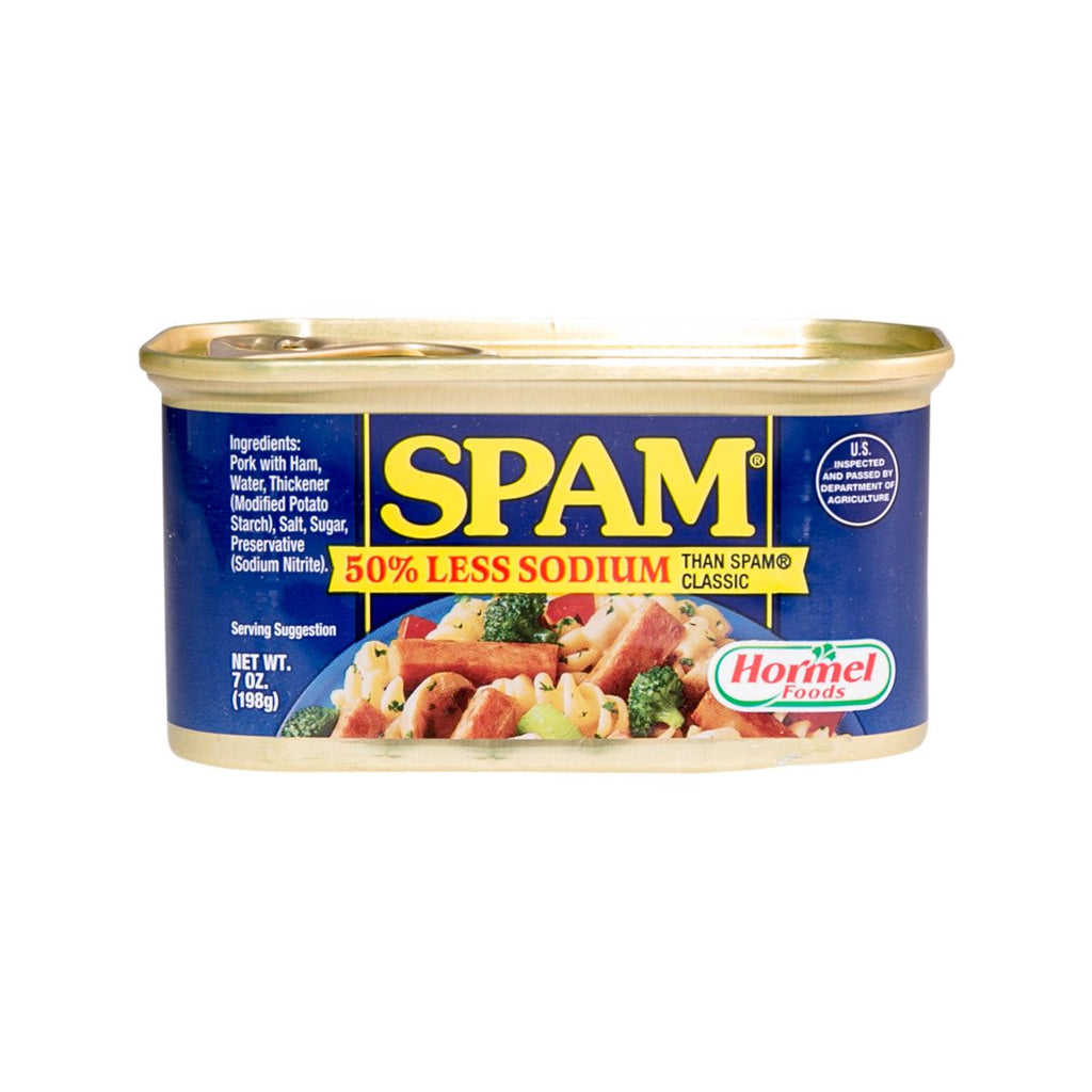 HORMEL Spam Luncheon Meat - 50% Less Sodium  (198g)