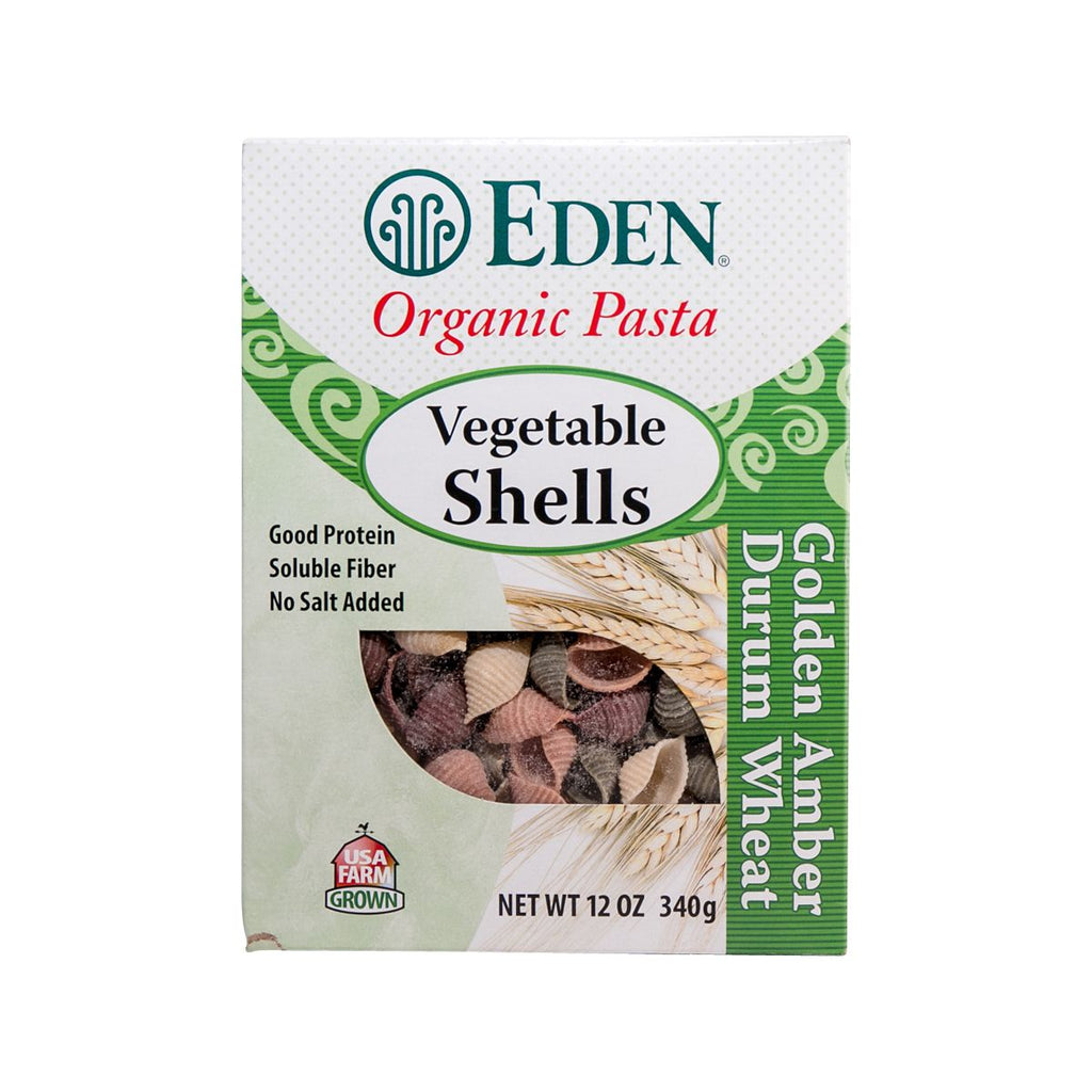 EDEN Organic Vegetable Shells Pasta  (340g)