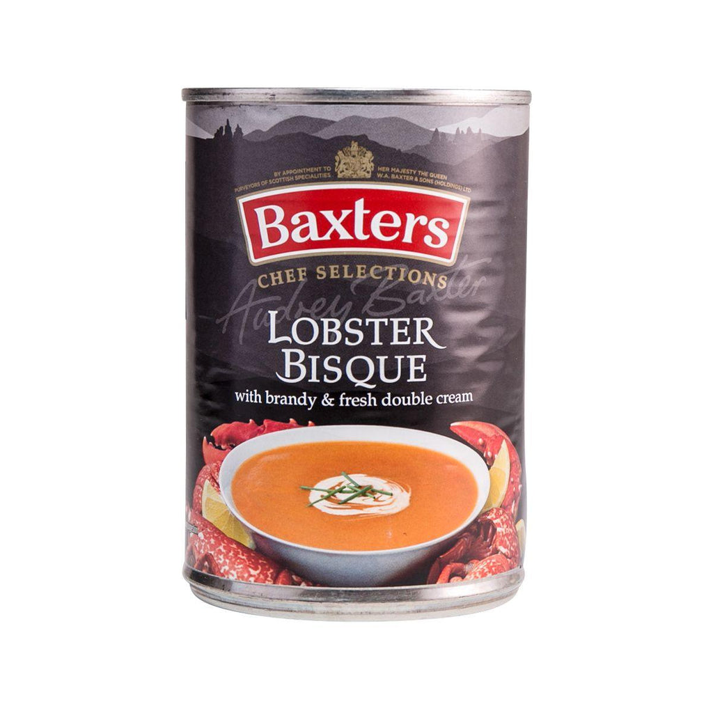 BAXTERS Lobster Bisque with Brandy & Fresh Double Cream  (400g)