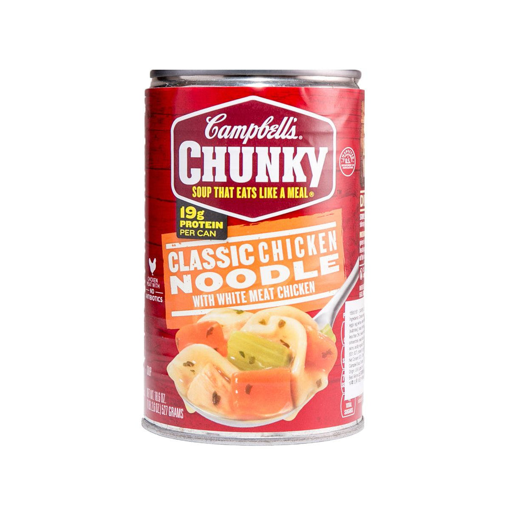 Campbells Chunky Classic Chicken Noodle Soup(527g)