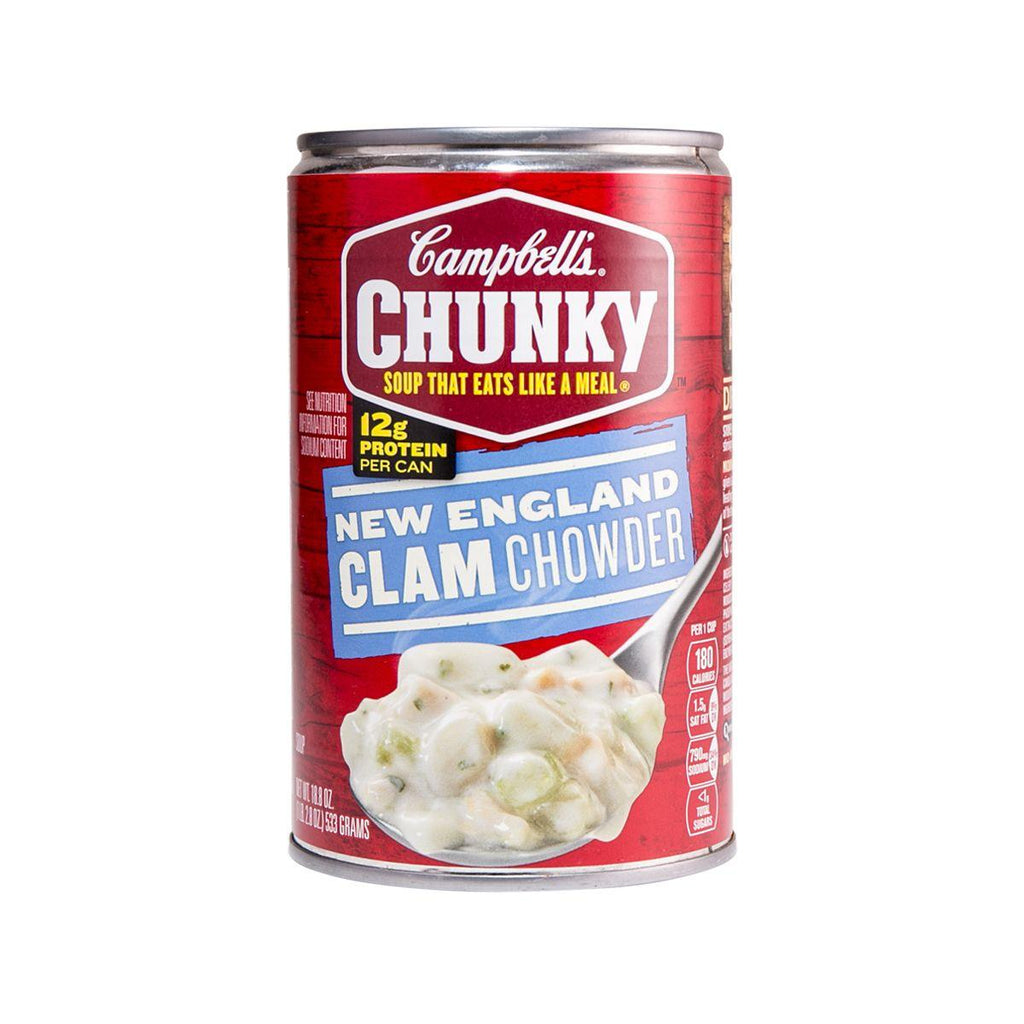 CAMPBELL'S Chunky New England Clam Chowder Soup  (533g)