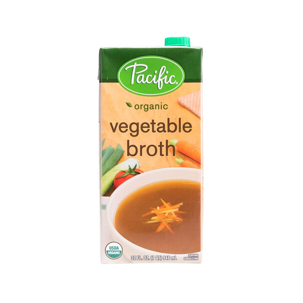 PACIFIC Organic Vegetable Broth  (946mL)