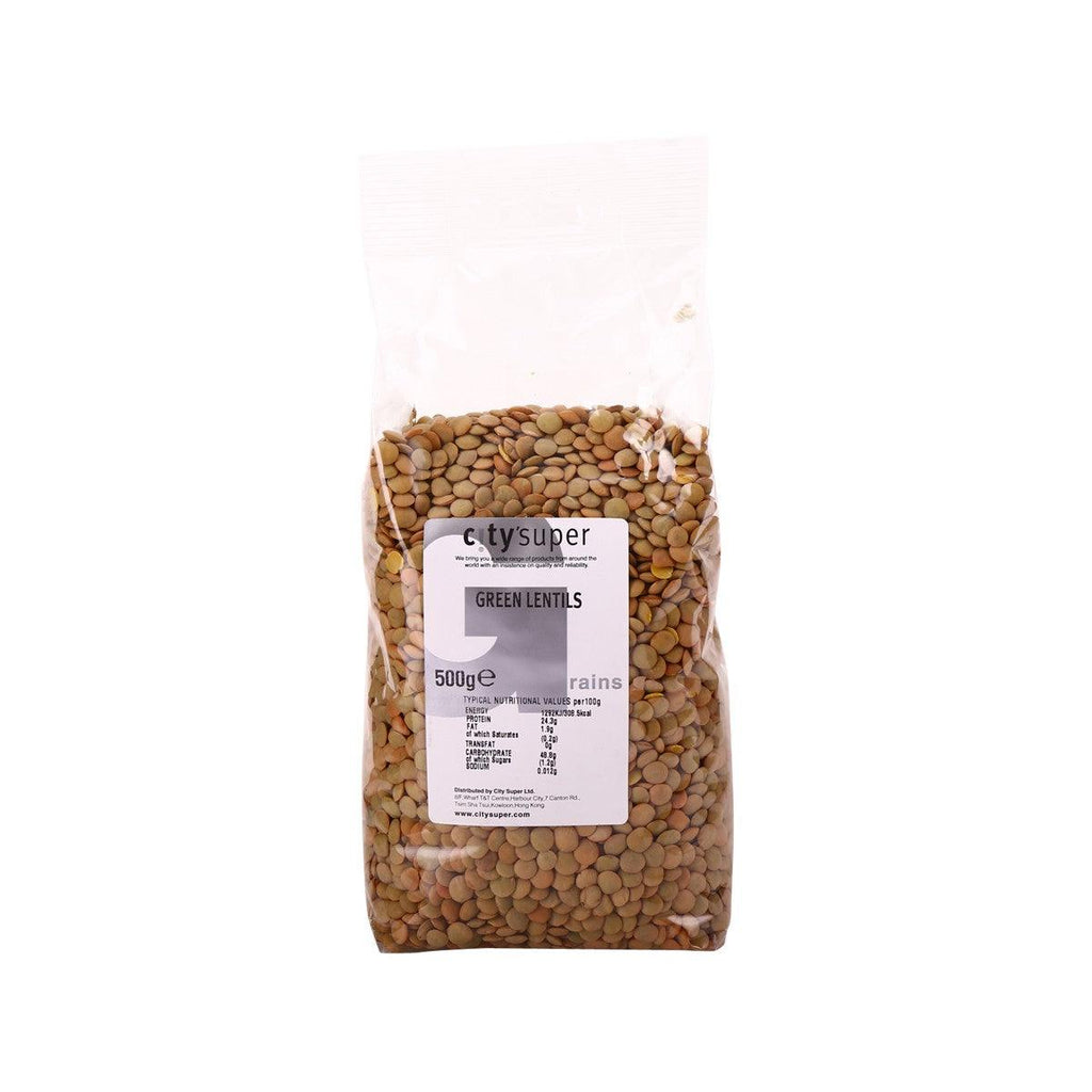 city'super Green Lentils(500g)