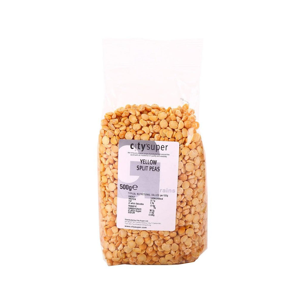 CITYSUPER Yellow Split Peas  (500g)
