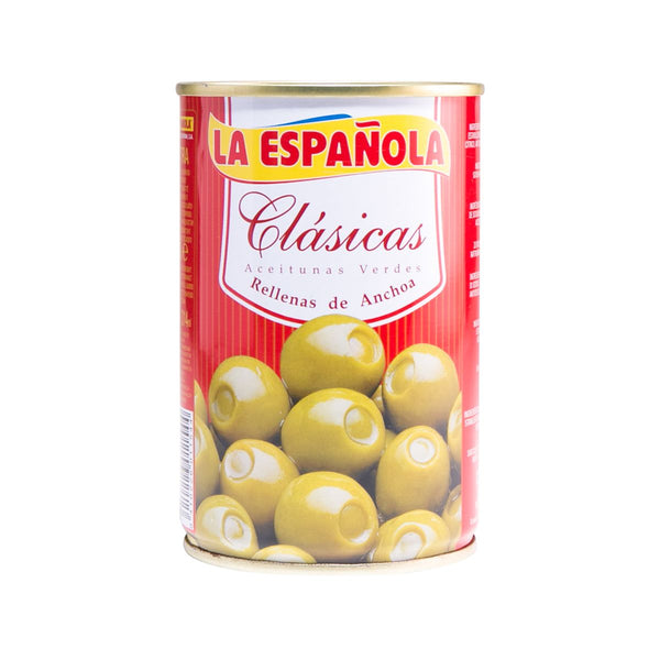 Laespanola Spanish Olives Stuffed With Anchovies(300g)