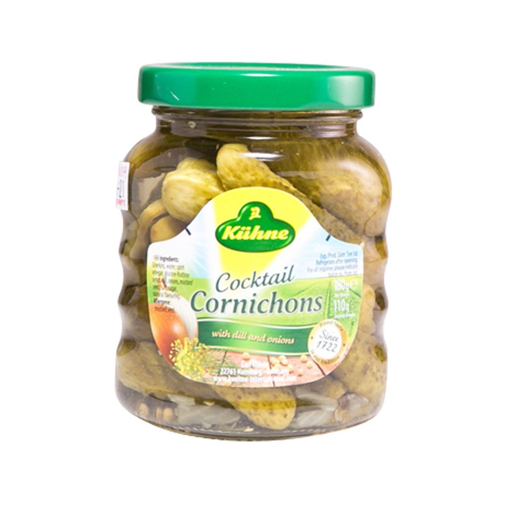 Kuhne Cocktail Cornichons(180g)
