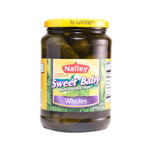 Nalley Sweet Pickles(710mL)