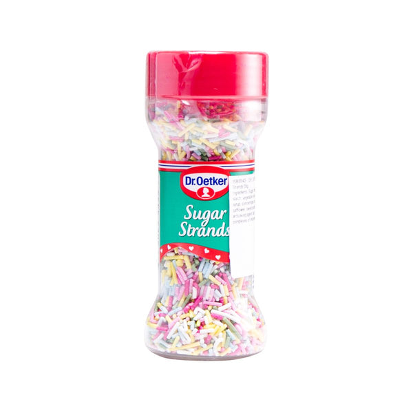 DR. OETKER Coloured Sugar Strands  (55g)