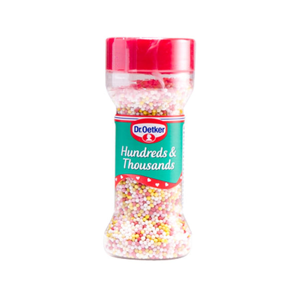 Droetker Hundreds & Thousands Colored Sugar Balls(65g)