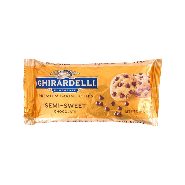 Ghirardelli Semi-Sweet Chocolate Chips(340g)