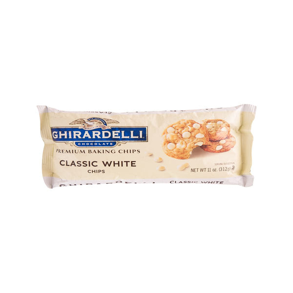 GHIRARDELLI Classic White Baking Chips  (312g)
