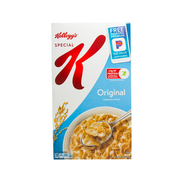 KELLOGG'S Special K Original Toasted Rice Cereal  (340g)