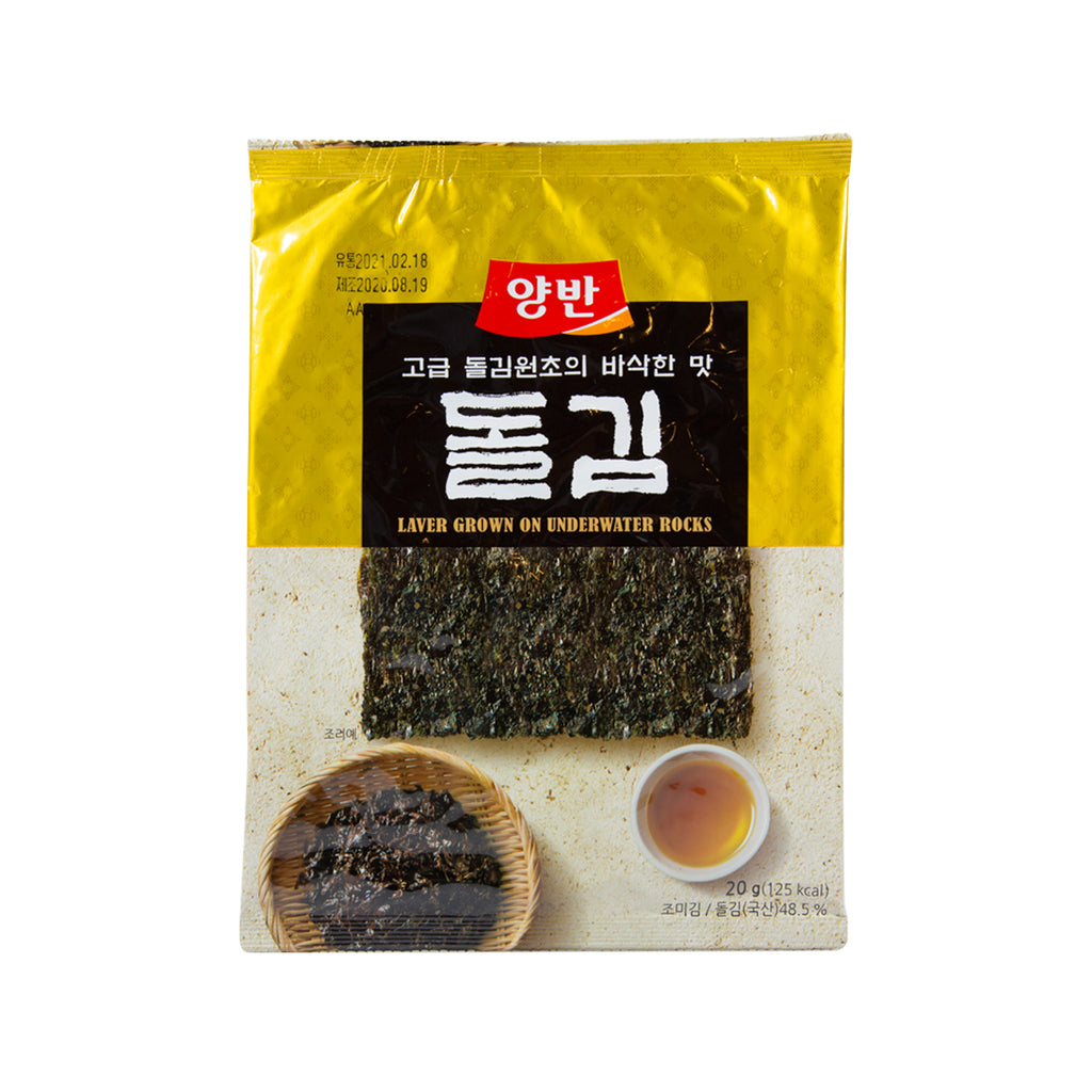 DONGWON Yangban Seasoned Laver (Grown on Underwater Rock)  (20g)