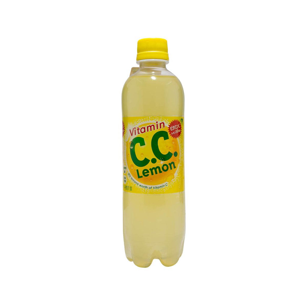 SUNTORY Vitamin C.C. Lemon Drink  (500mL)