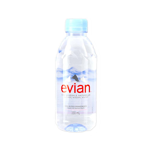 EVIAN Natural Mineral Water  (330mL)