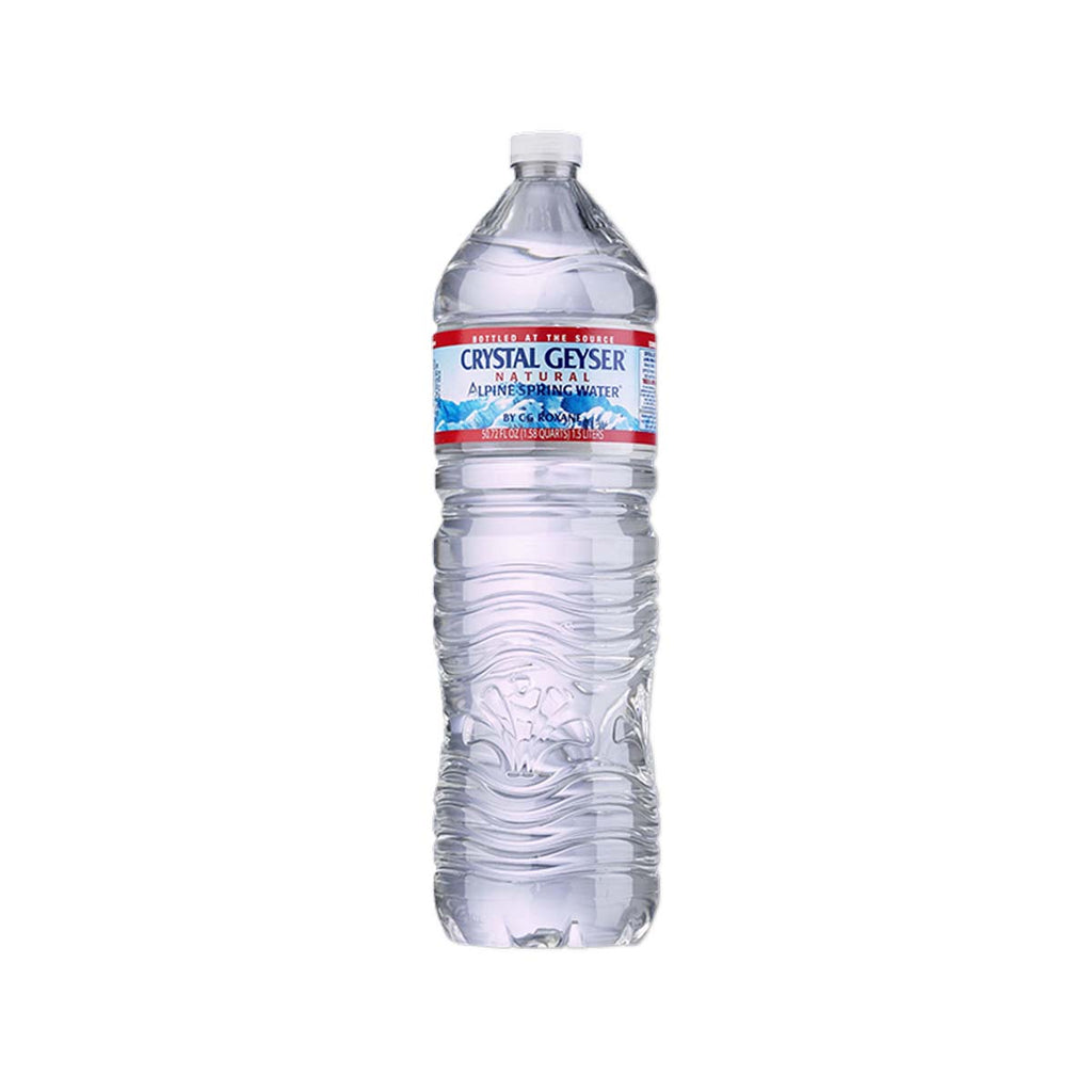 CRYSTAL GEYSER Natural Alpine Spring Water  (1.5L)