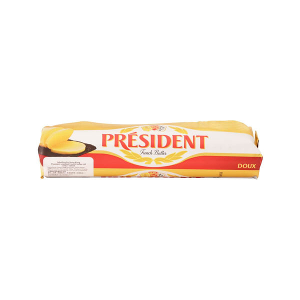 PRESIDENT Unsalted French Butter Roll  (250g)