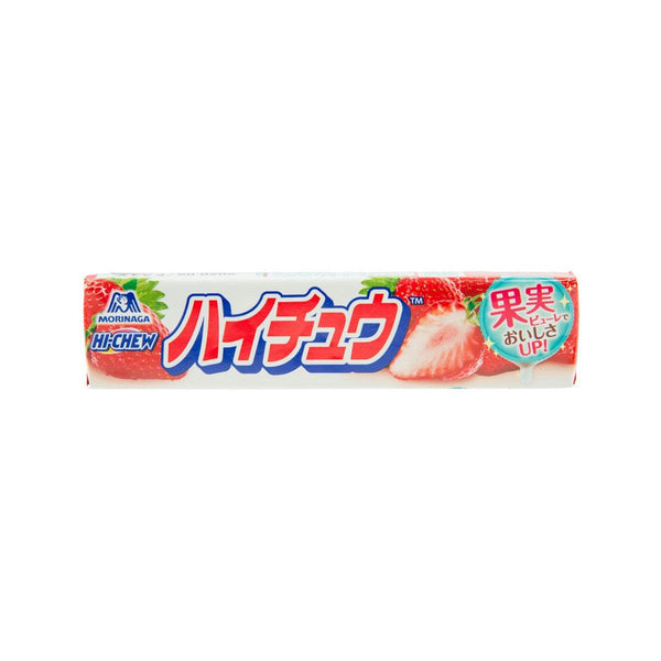MORINAGA Hi-Chew Candy - Strawberry  (12pcs)