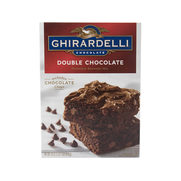 Ghirardelli Double Chocolate Premium Brownie Mix(510g)