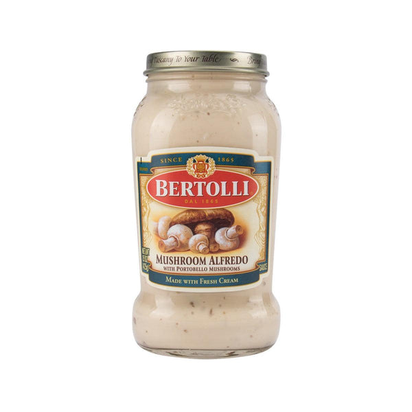 Bertolli Mushroom Alfredo Sauce With Portobello Mushrooms(425g)