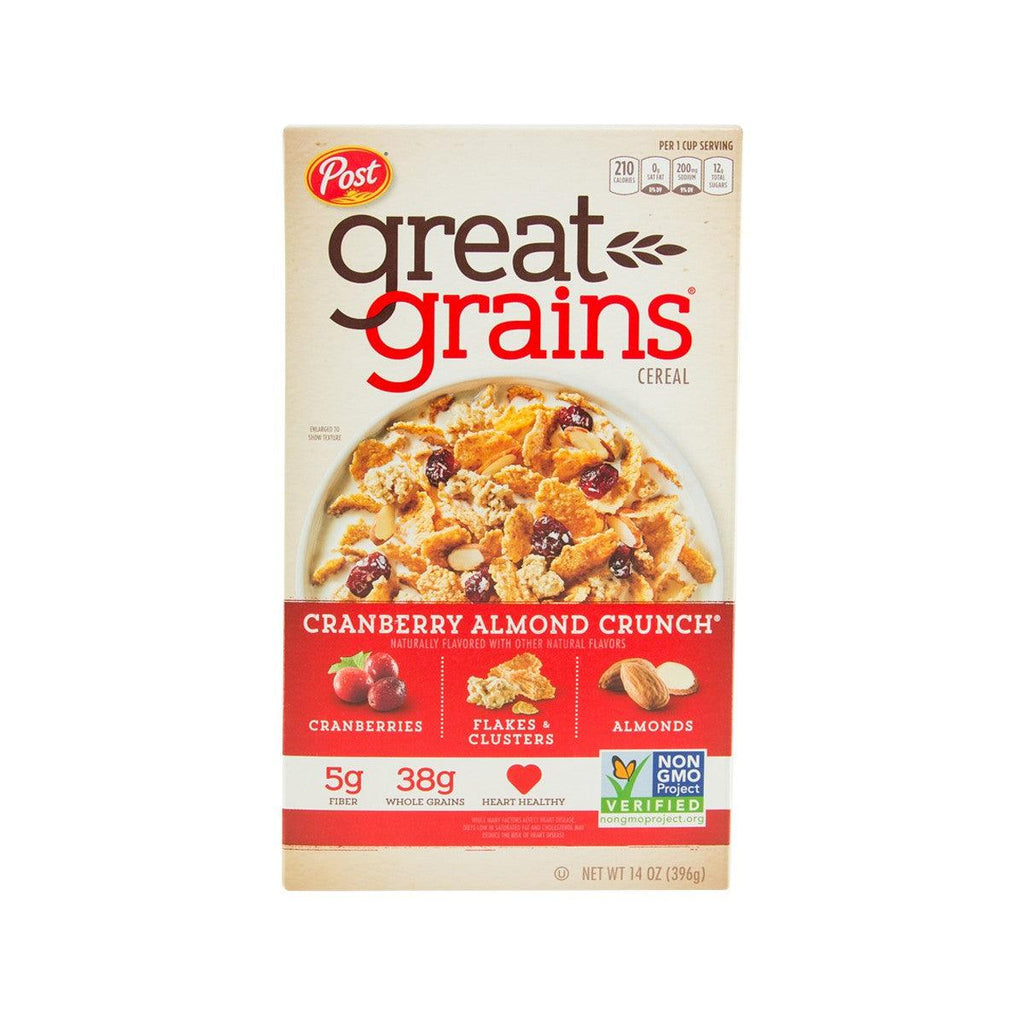 POST Cranberry Almond Crunch Whole Grain Cereal  (396g)