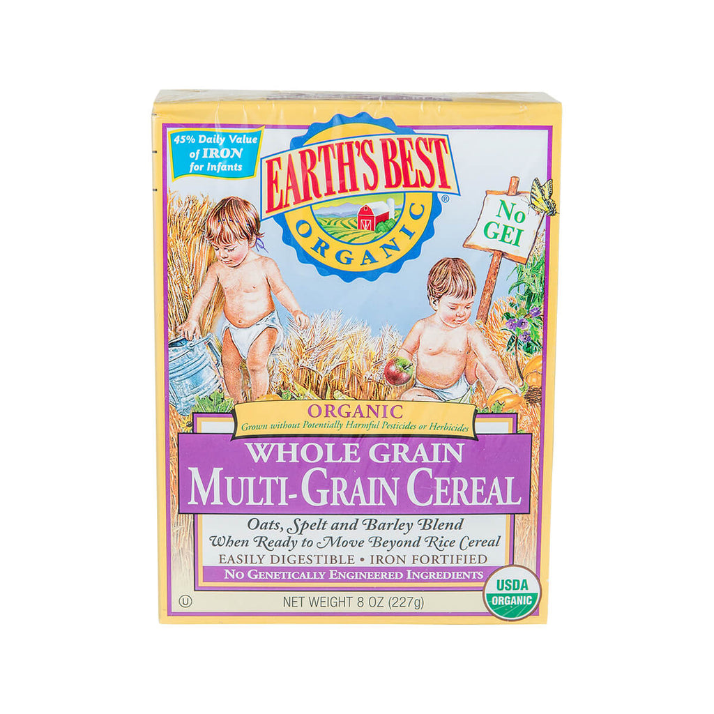 Earth's Best Organic Whole Grain Multi-Grain Cereal(227g)