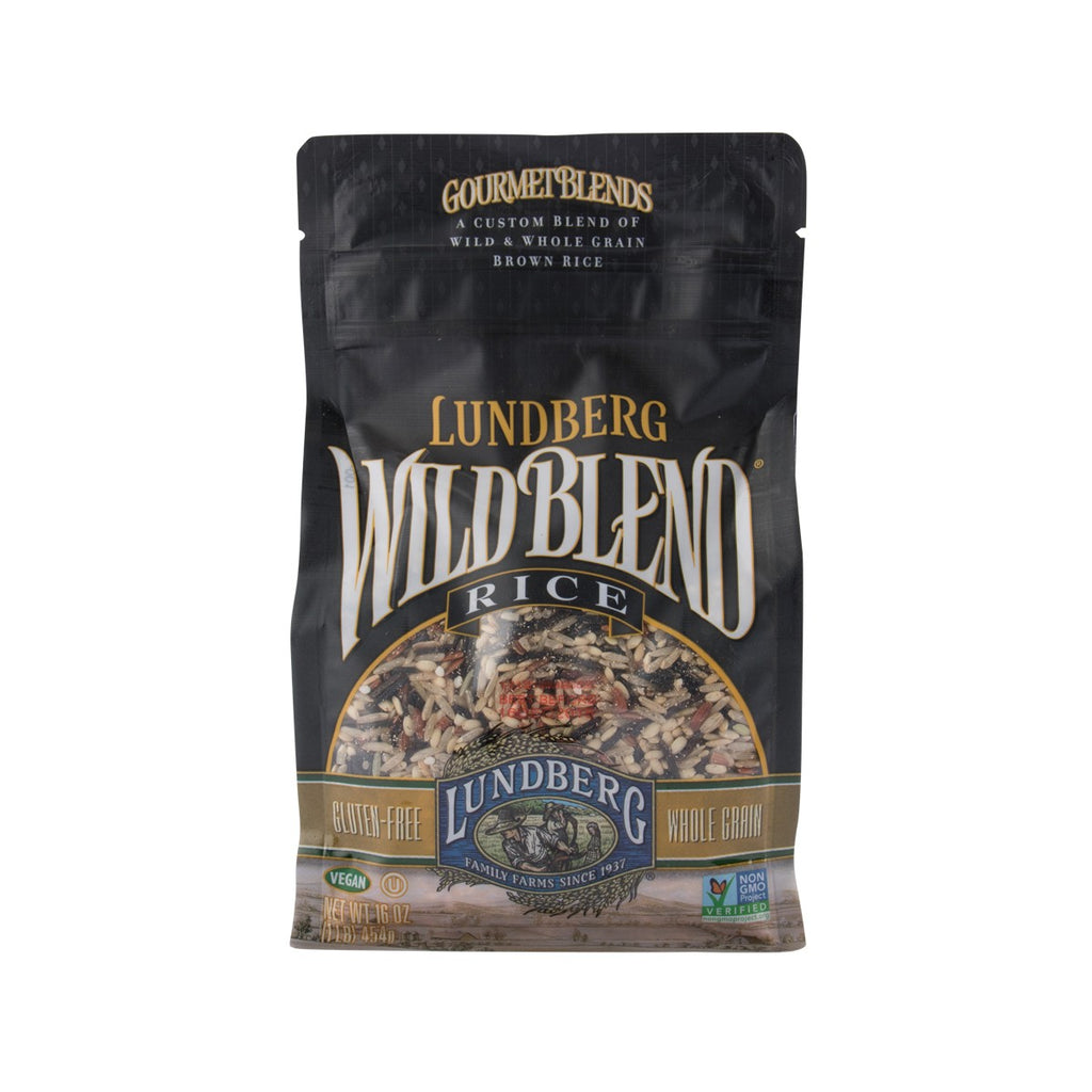 LUNDBERG Wild Blend Wild & Whole Grain Brown Rice  (454g)