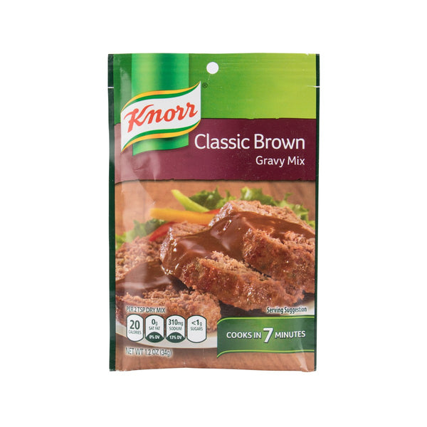 KNORR Classic Brown Gravy Mix  (34g)
