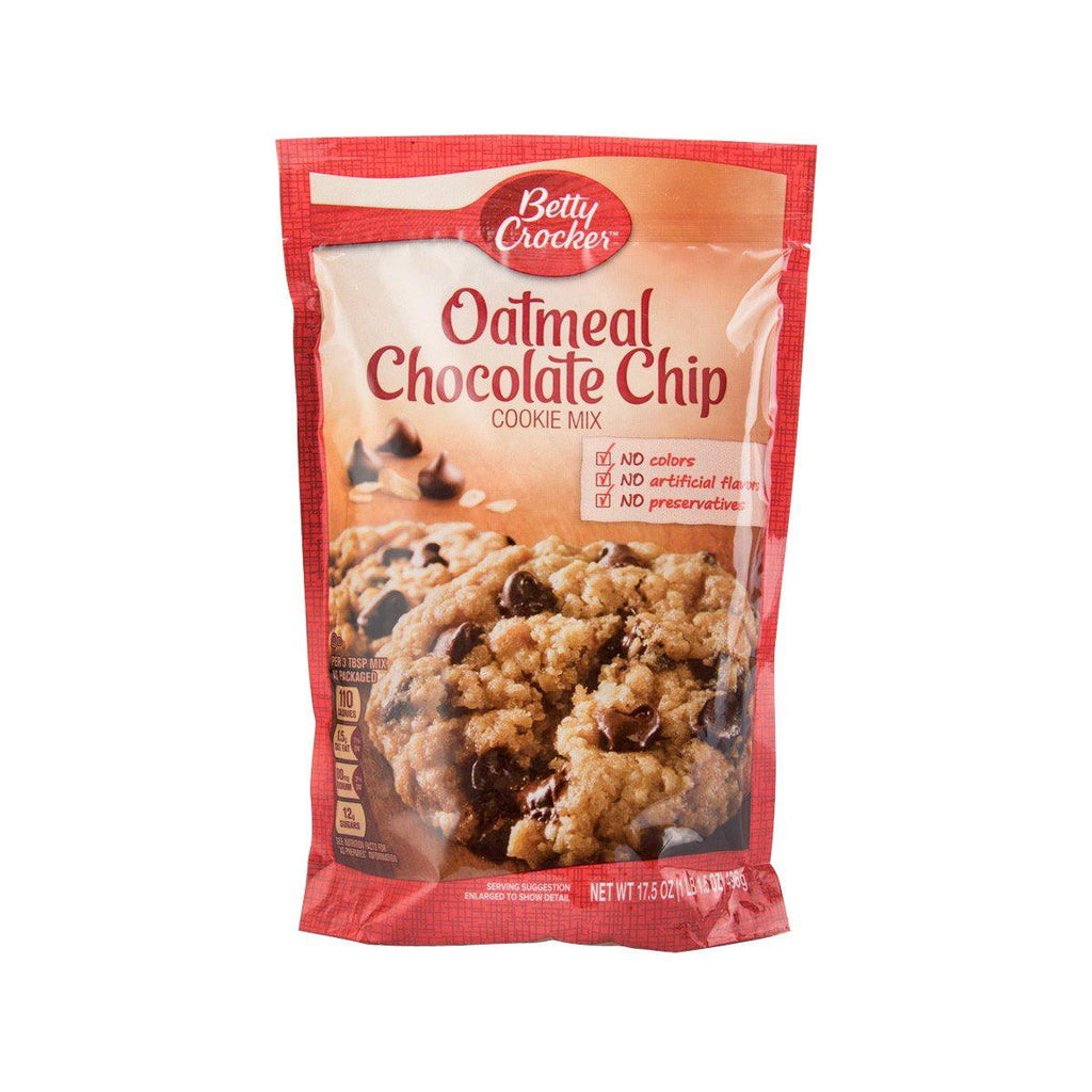 BETTY CROCKER Cookie Mix - Oatmeal Chocolate Chip  (496g)