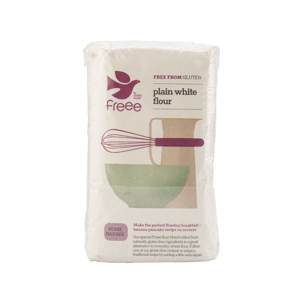 DOVES FARM Gluten Free Plain White Flour Blend  (1kg)