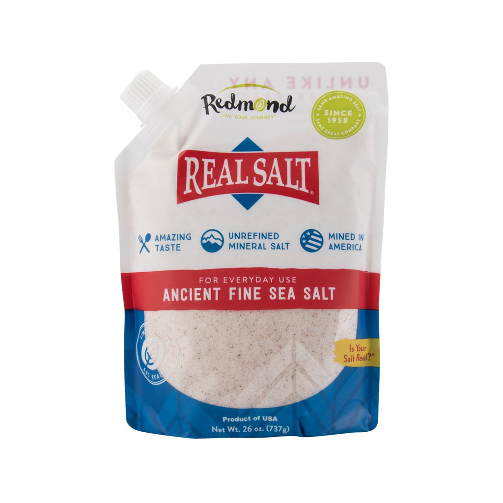 REALSALT Ancient Fine Sea Salt  (737g)