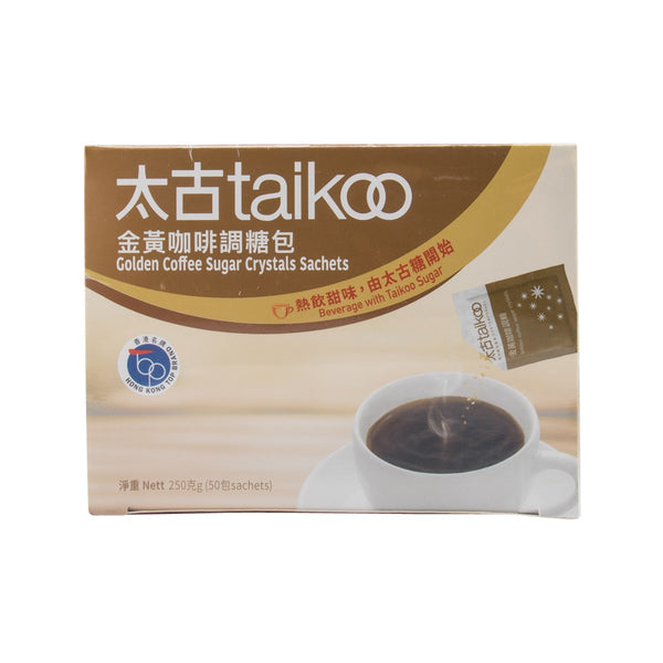 TAIKOO Golden Coffee Sugar Crystals Sachets  (250g)