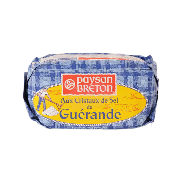 PAYSAN BRETON Churned Butter With Sea Salt Guerande  (250g)