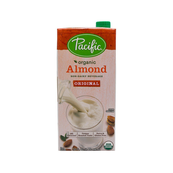 PACIFIC FOOD Organic Almond Plant-Based Beverage - Original  (946mL)