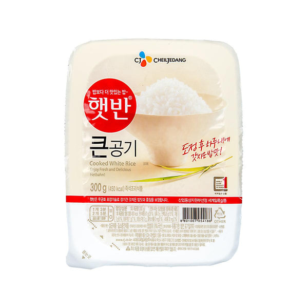 CHEIL JEDANG Cooked White Rice  (300g)