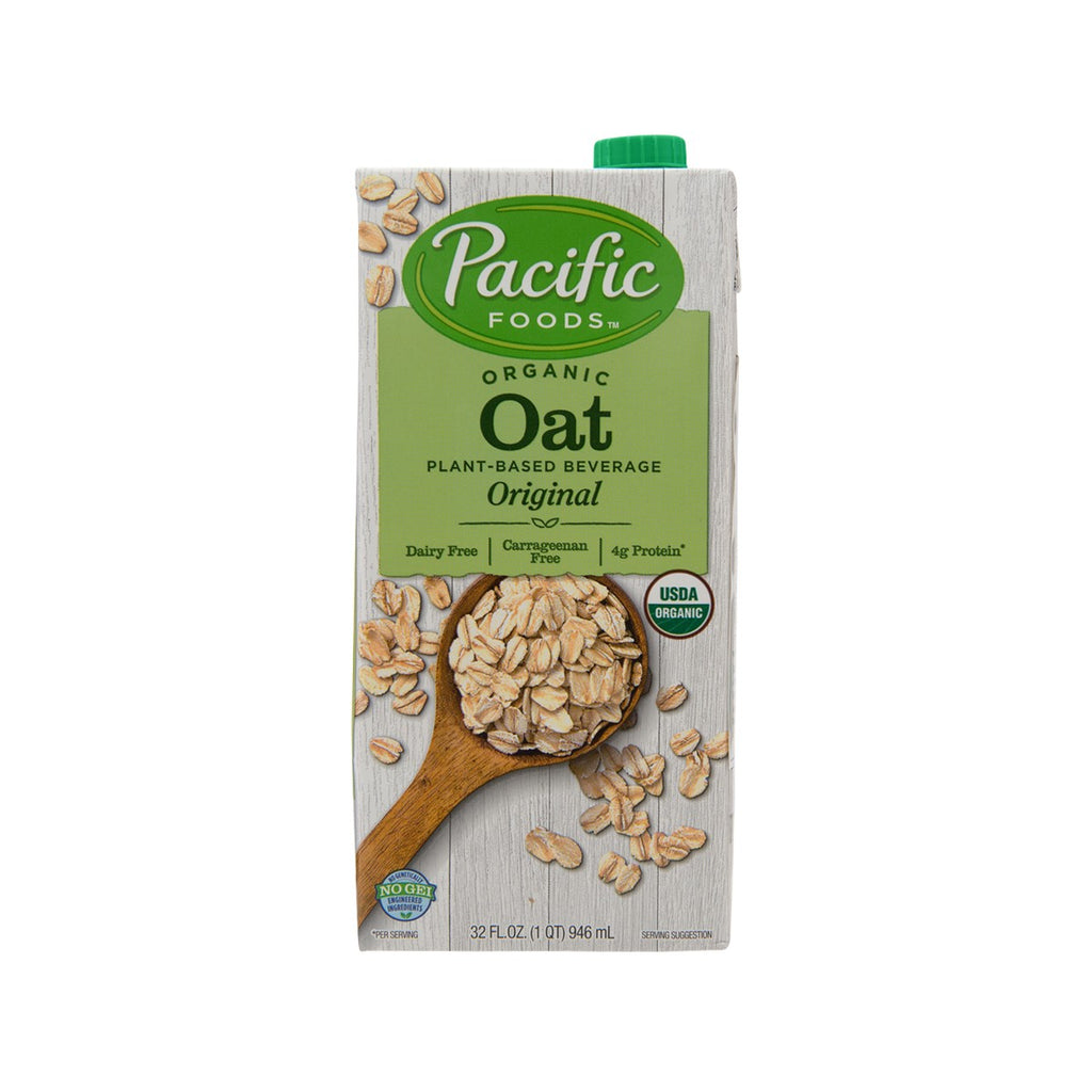 PACIFIC FOOD Organic Oat Plant-Based Beverage - Original  (946mL)