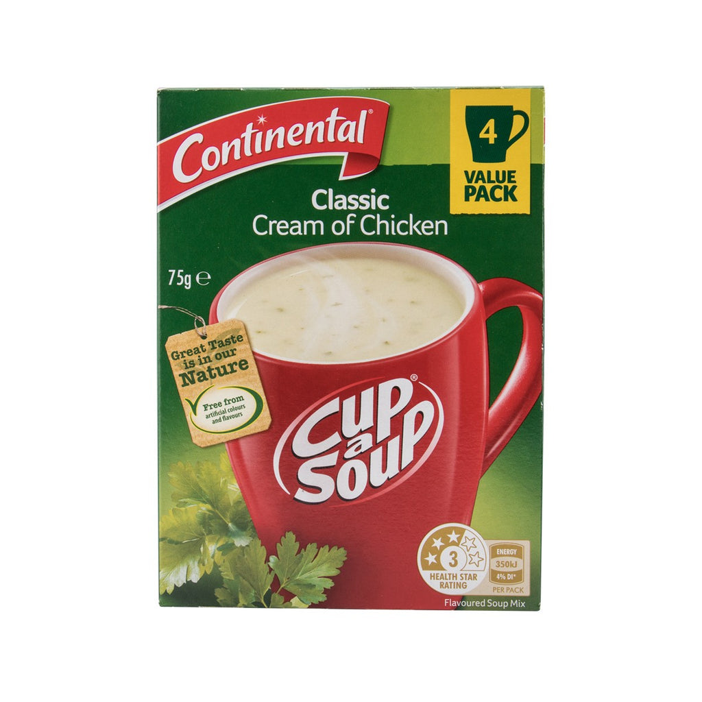 CONTINENTAL Cup-A-Soup - Cream of Chicken  (75g)