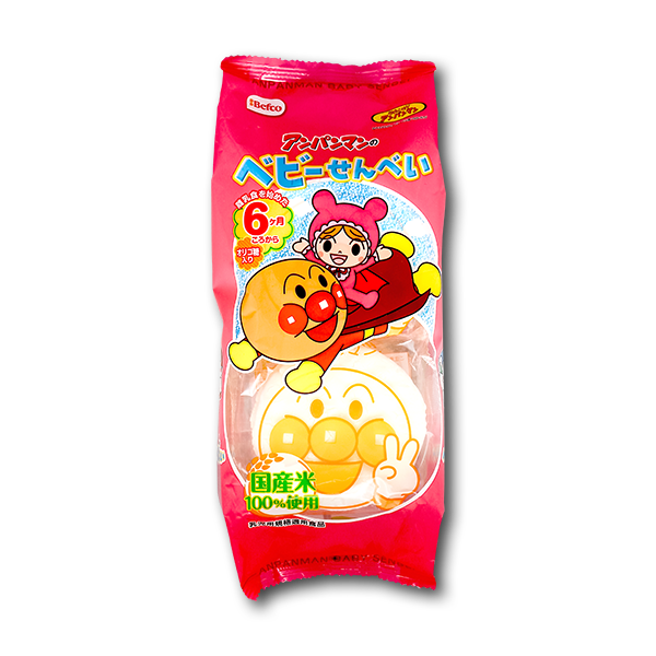 KURIYAMA Anpanman Baby Cracker  (7bag)