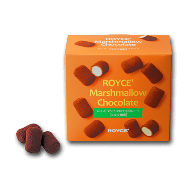 ROYCE' Marshmallow Chocolate - Milk Coffee  (85g)
