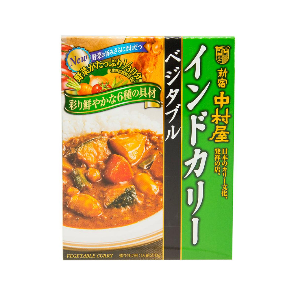 S.NAKAMURAYA Instant Indian Style Vegetable Curry  (210g)