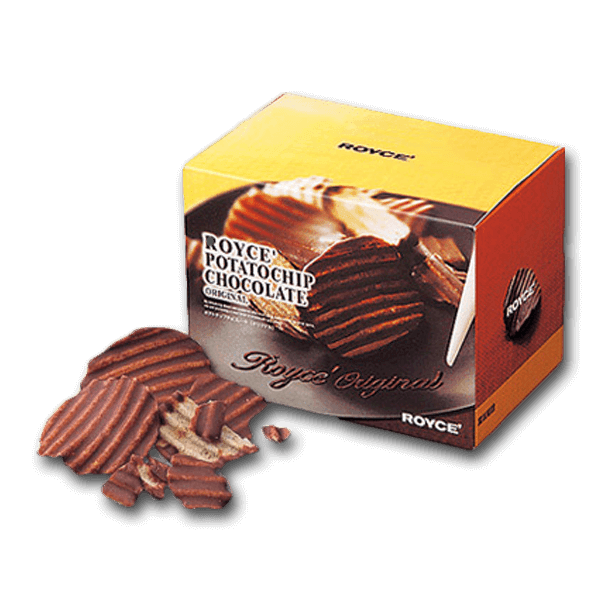 ROYCE' Potatochip Chocolate - Original  (190g)
