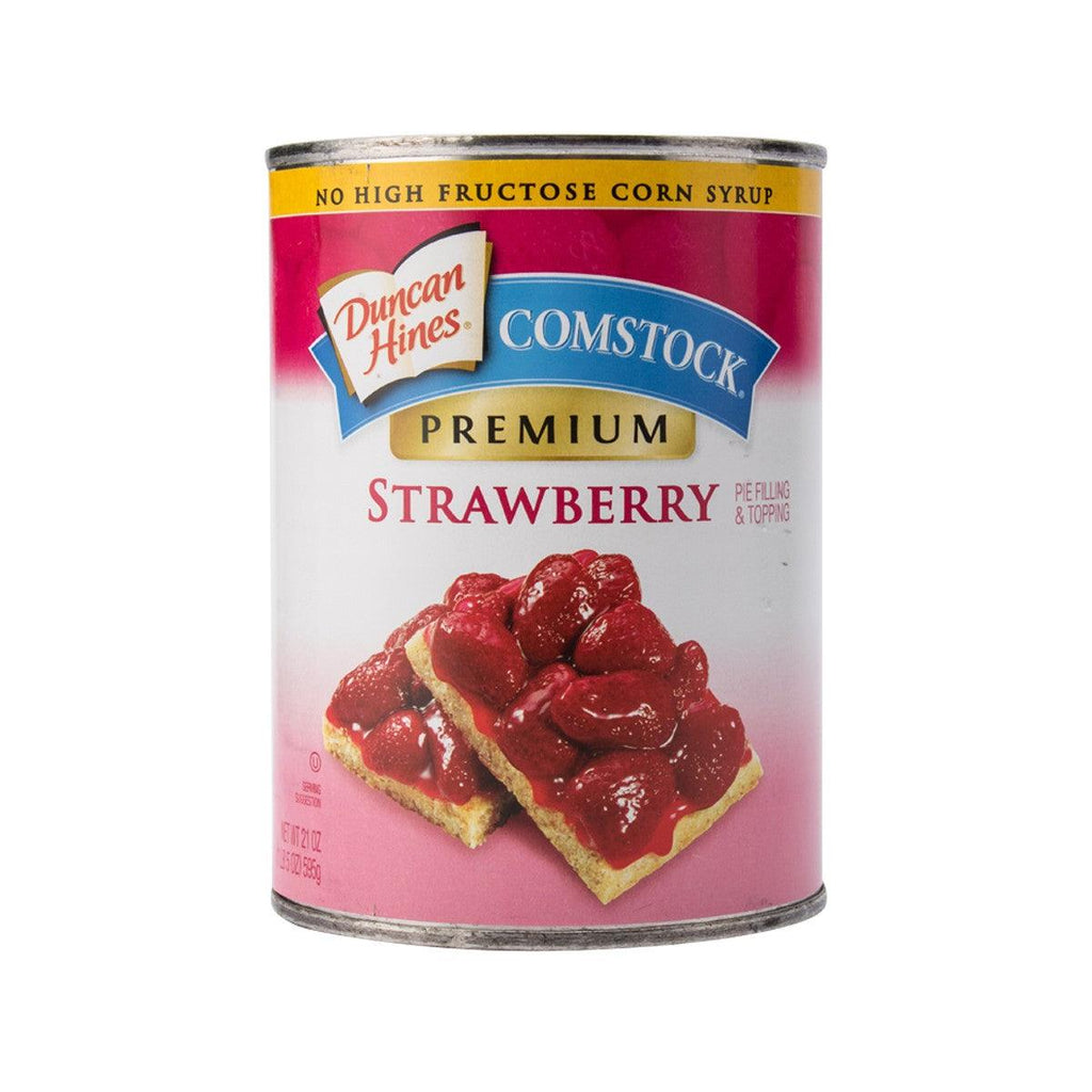 Comstock Strawberry Pie Filling & Topping(595g)