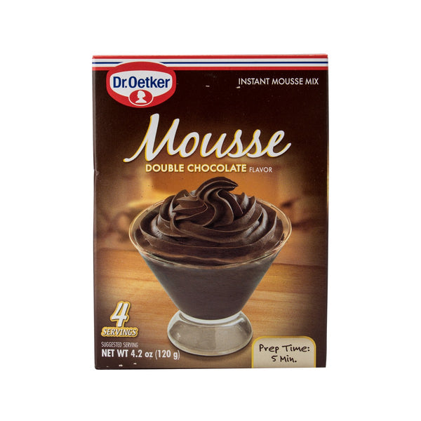 Dr. Oetker Premium Mousse Mix - Double Chocolate(120g)