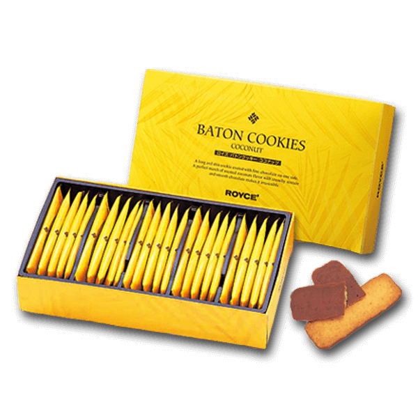 ROYCE' Baton Cookies - Coconut  (25pcs)
