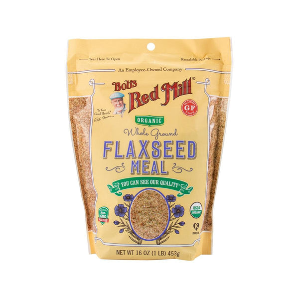 BOB'S RED MILL Organic Whole Ground Flaxseed Meal  (453g)