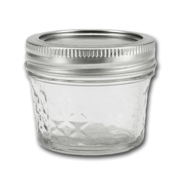 BALL Ball Quilted Crystal Jelly Jars