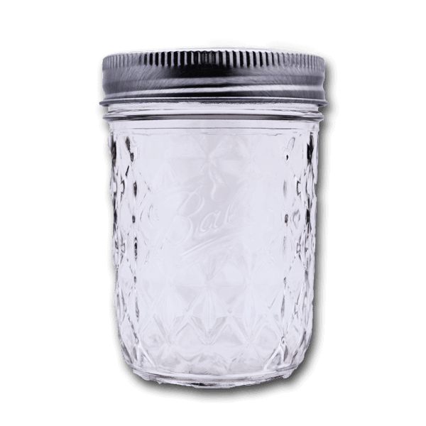 BALL Quilted Crystal Jelly Jar
