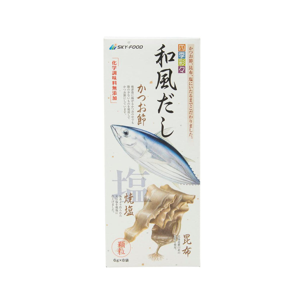 SKY FOODS Bonito & Kelp Soup Stock Pack  (48g)