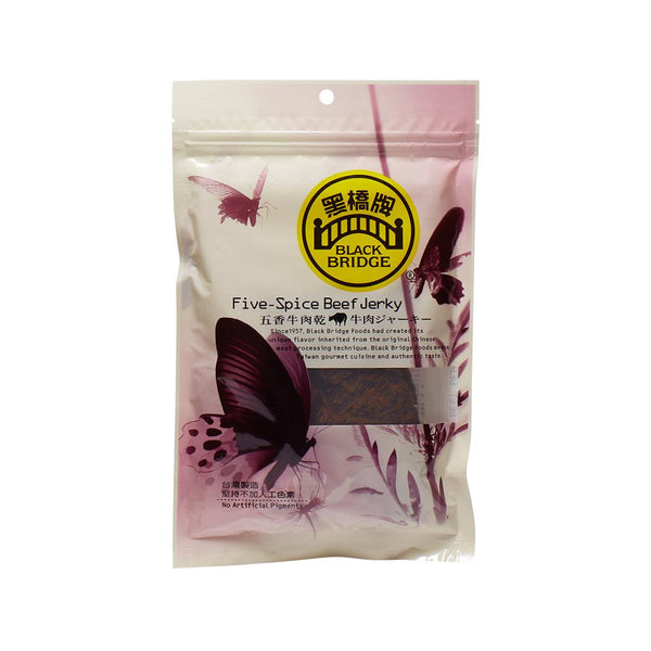 BLACK BRIDGE Five-Spices Beef Jerky  (85g)